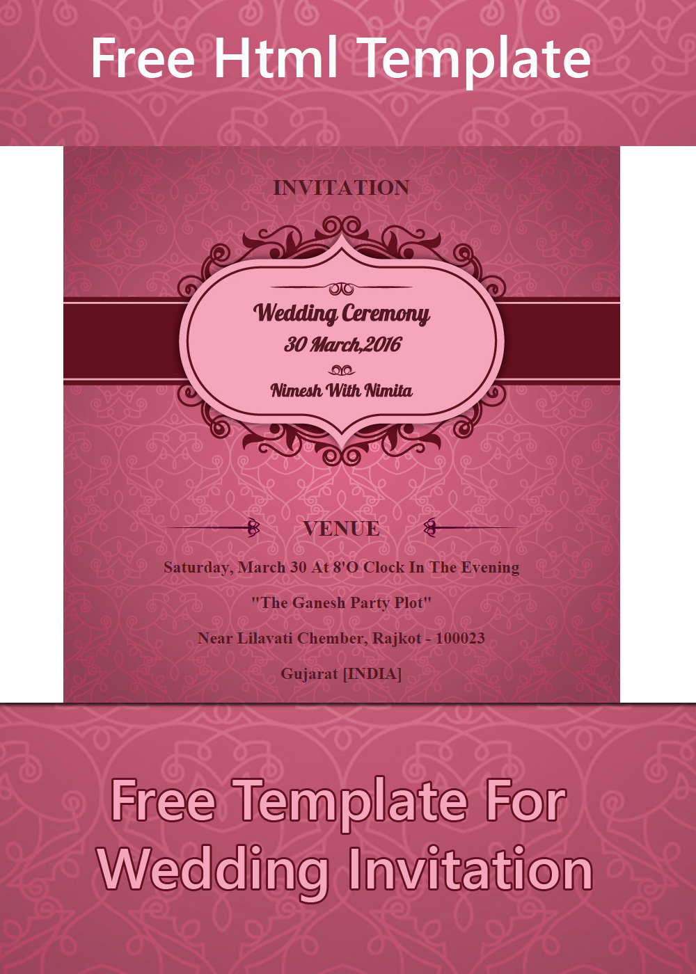 free printable wedding invitation templates.html