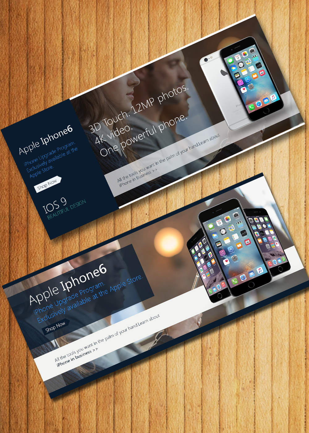 apple web banners