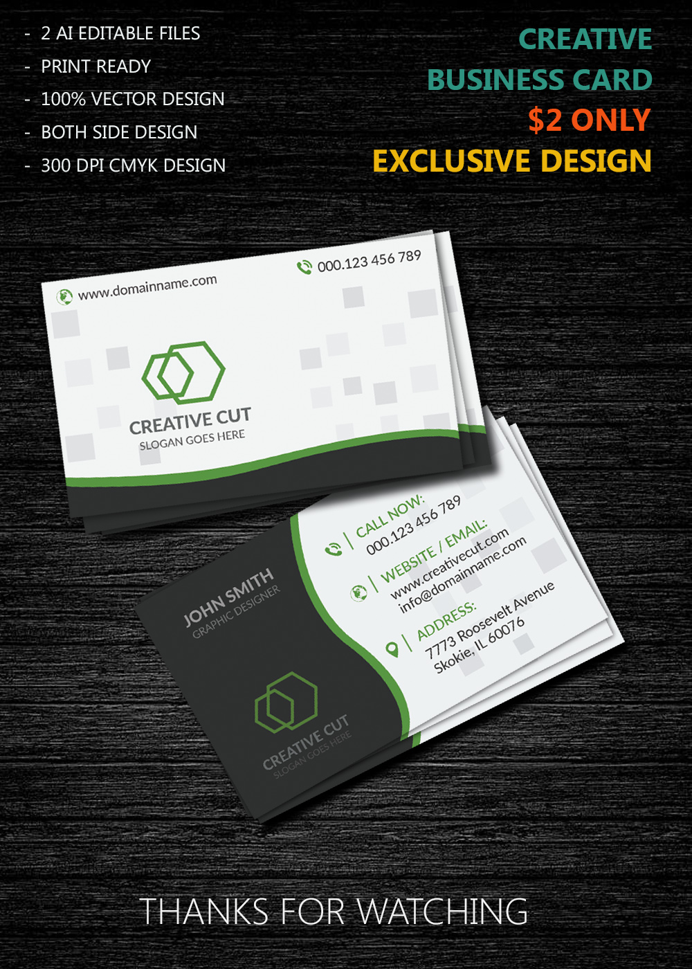 business card new design