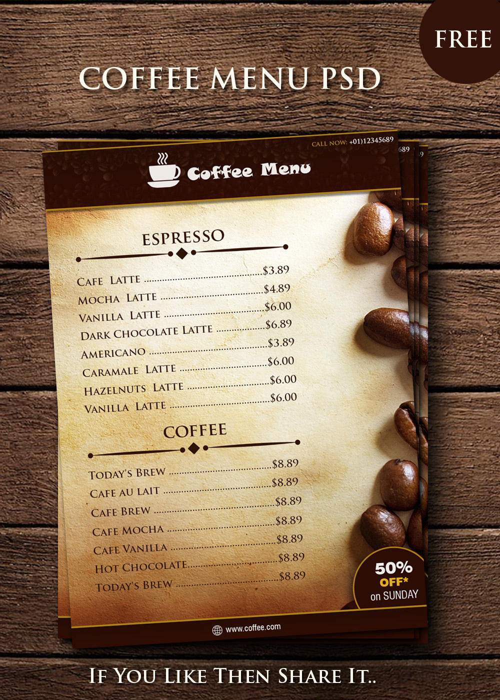 coffee-menu
