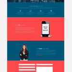 One page Website HTML templates