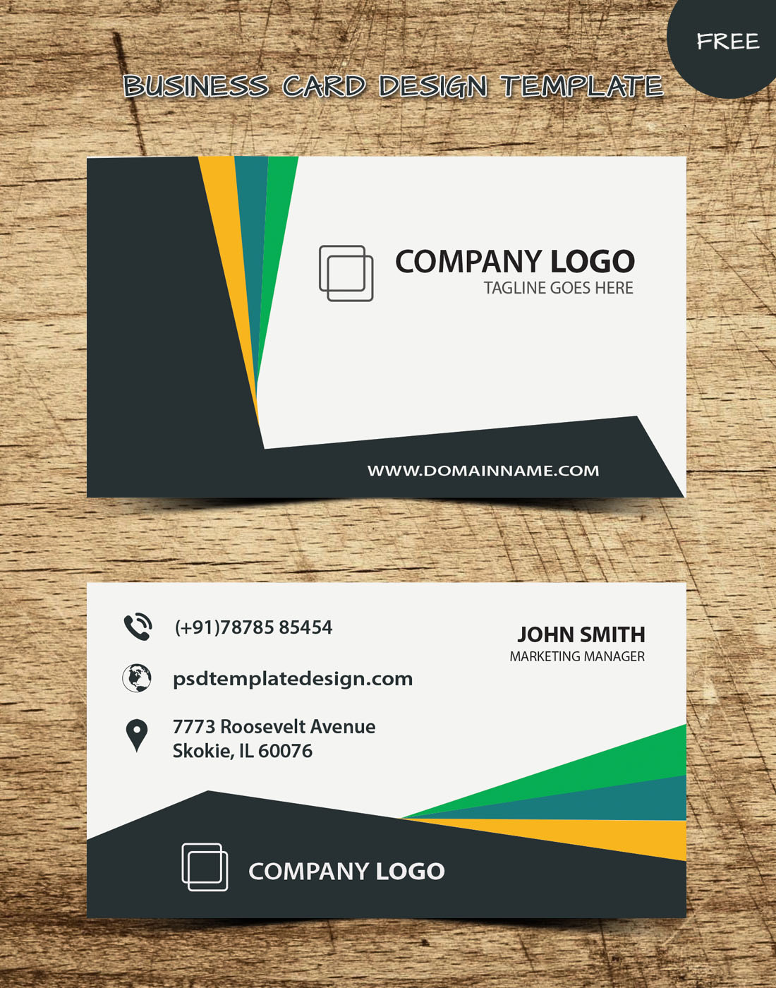 BUSINESS-CARD TEMPLATE