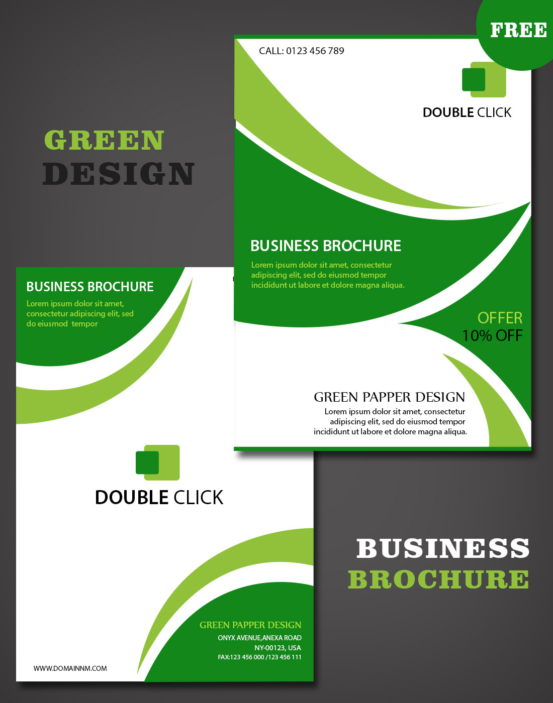 Business brochure templates download for Company brochure template free download