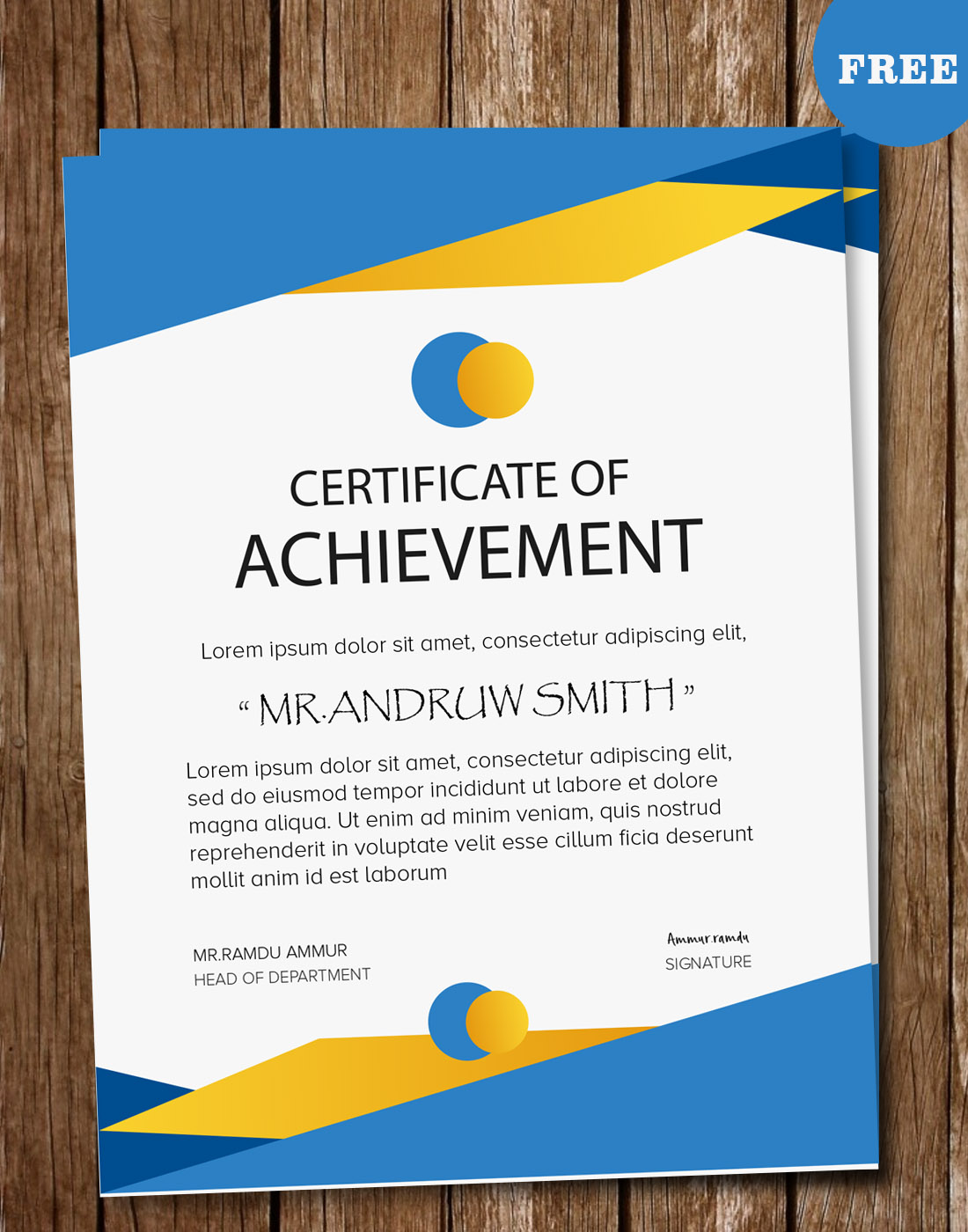 Certificate psd templates for Download certificate template psd