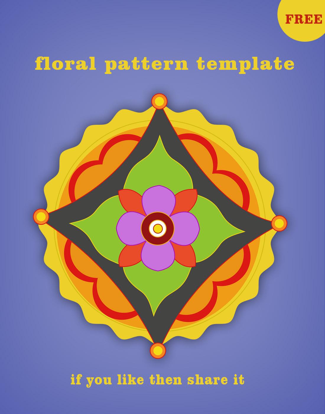 floral templates