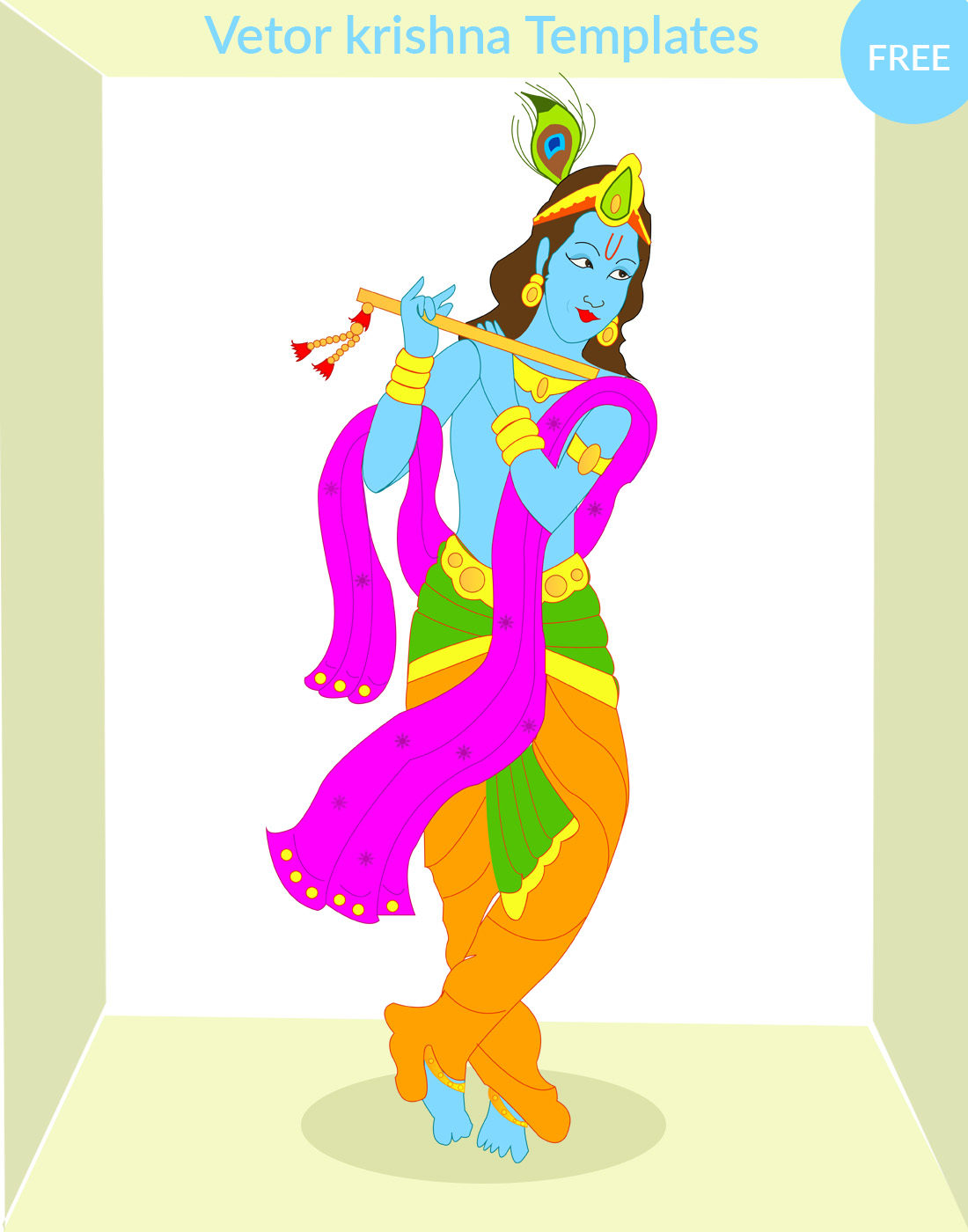 Krishna Vectors Download