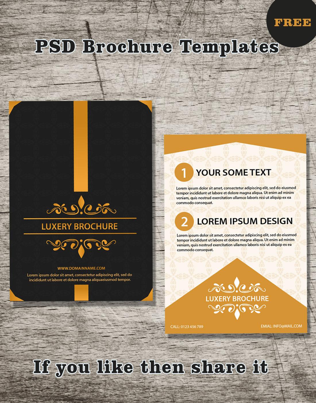psd brochure templates