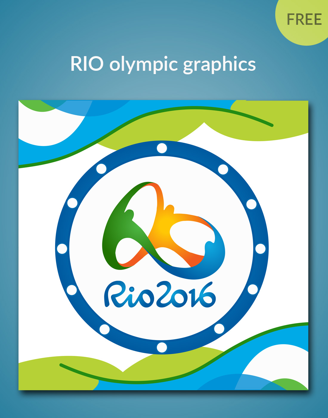 rio olympic graphics