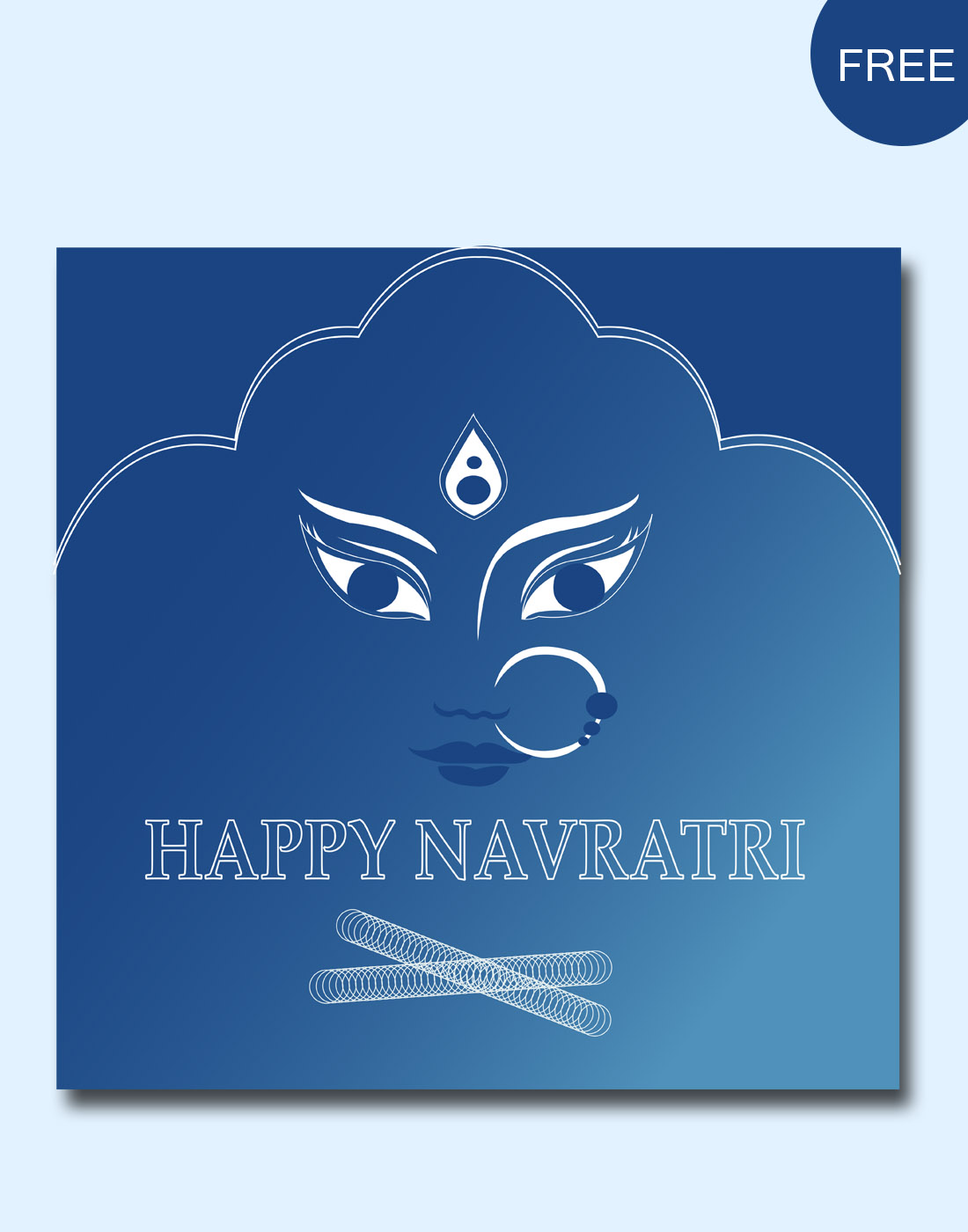 NAVRATRI VECTOR DESIGN