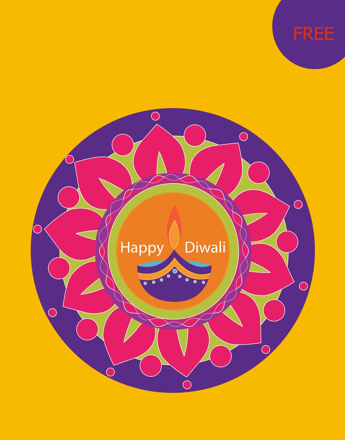 diwali psd background