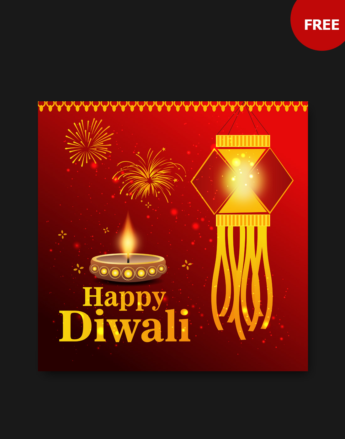 diwali vector design