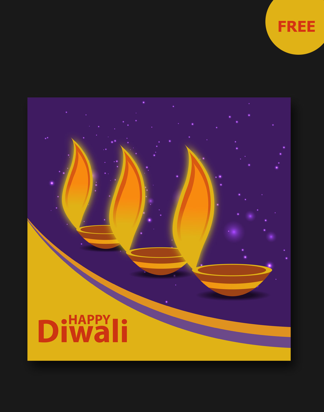 diwali vector graphic