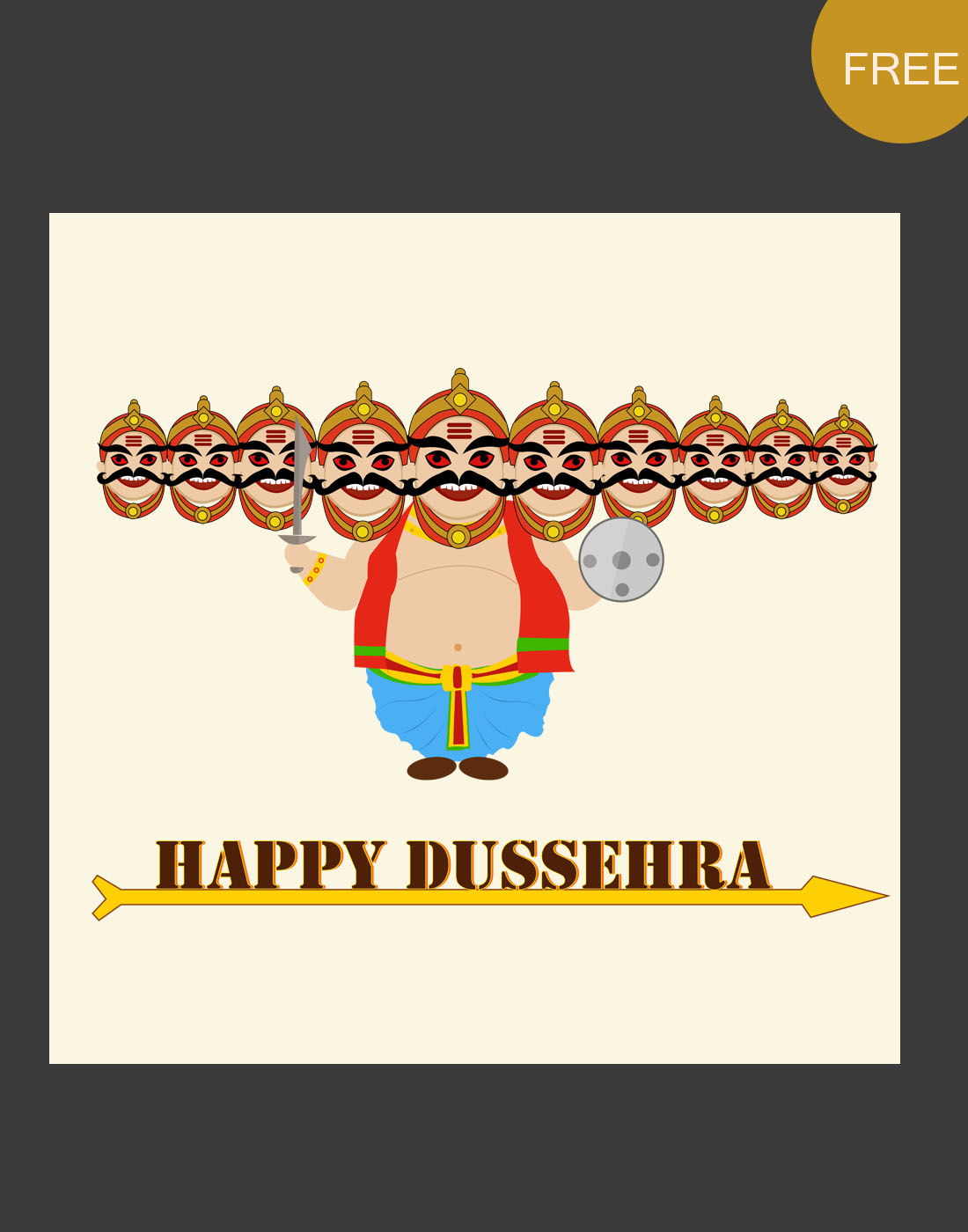 dussehra graphic templates