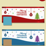 Christmas fb cover templates