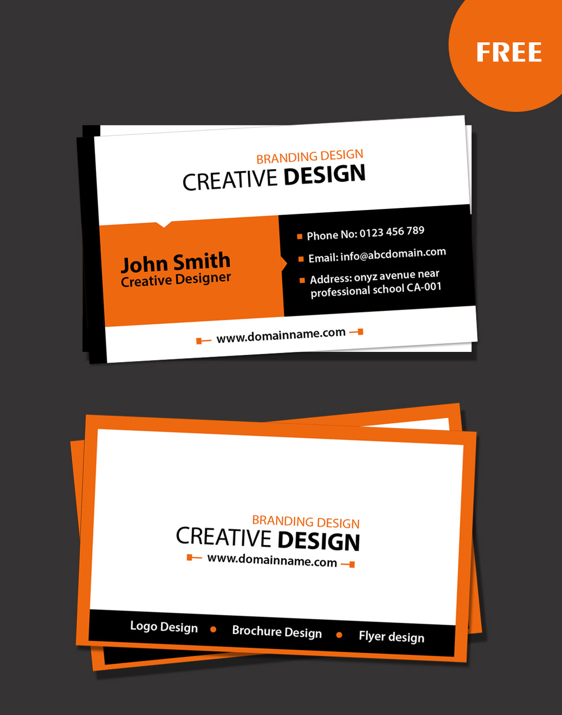 Business card archives free website templates download psd modern business card reheart Gallery