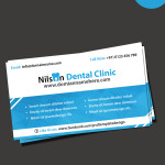dental business card templates