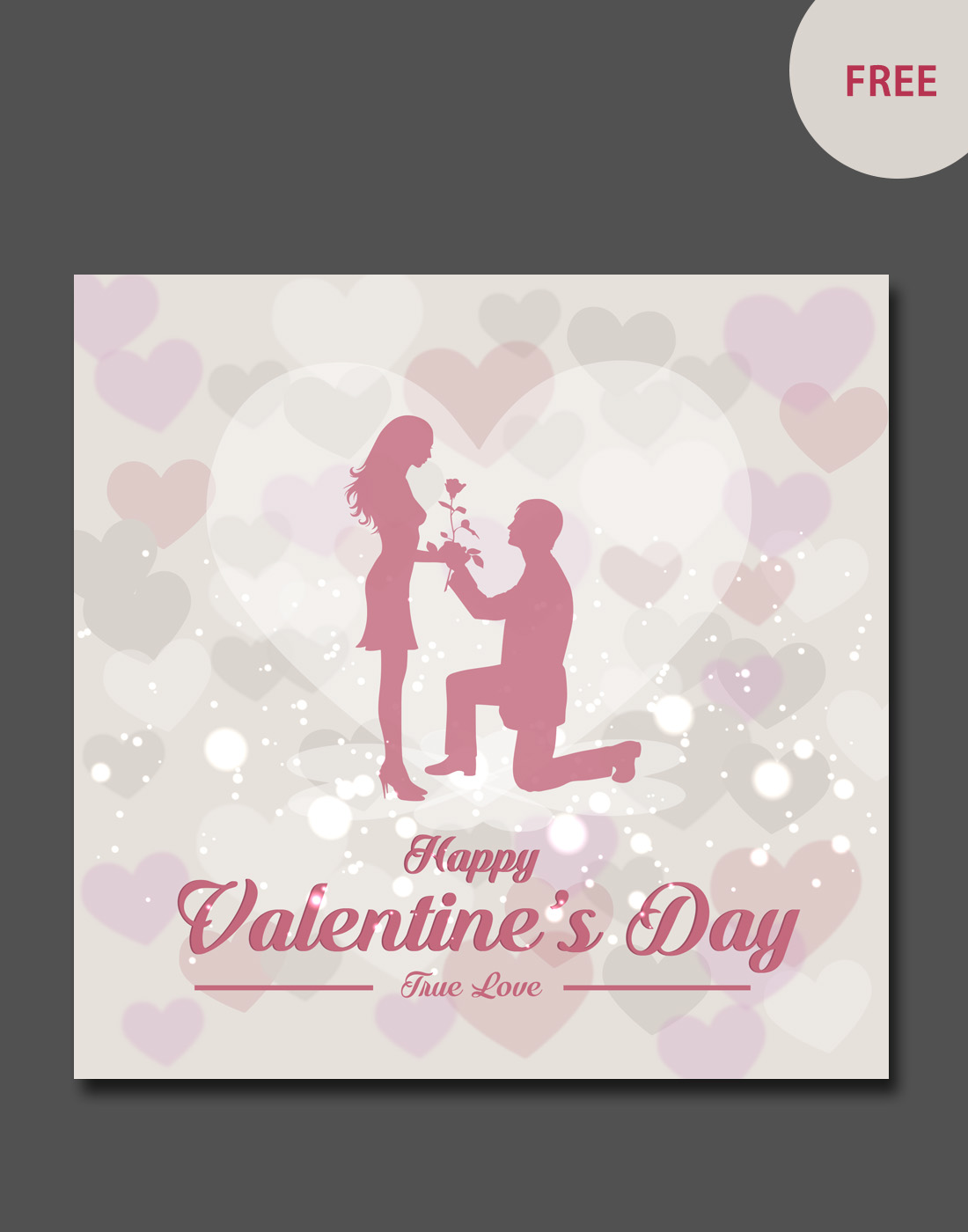 valentine vector card templates