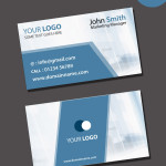 visiting card psd template free download