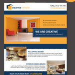 home interior brochure templates