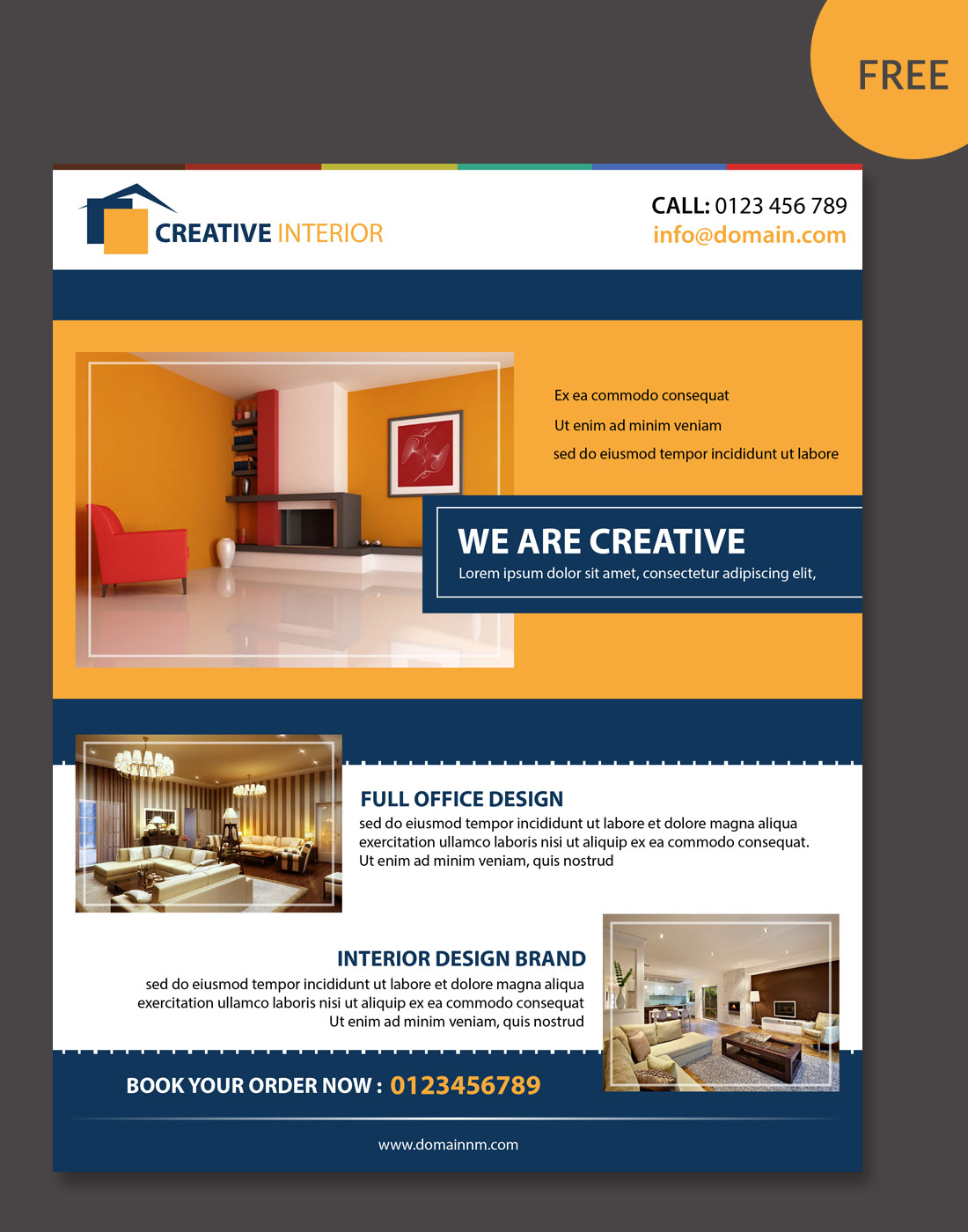 home interior brochure