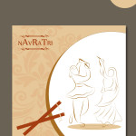 free navratri graphic templates