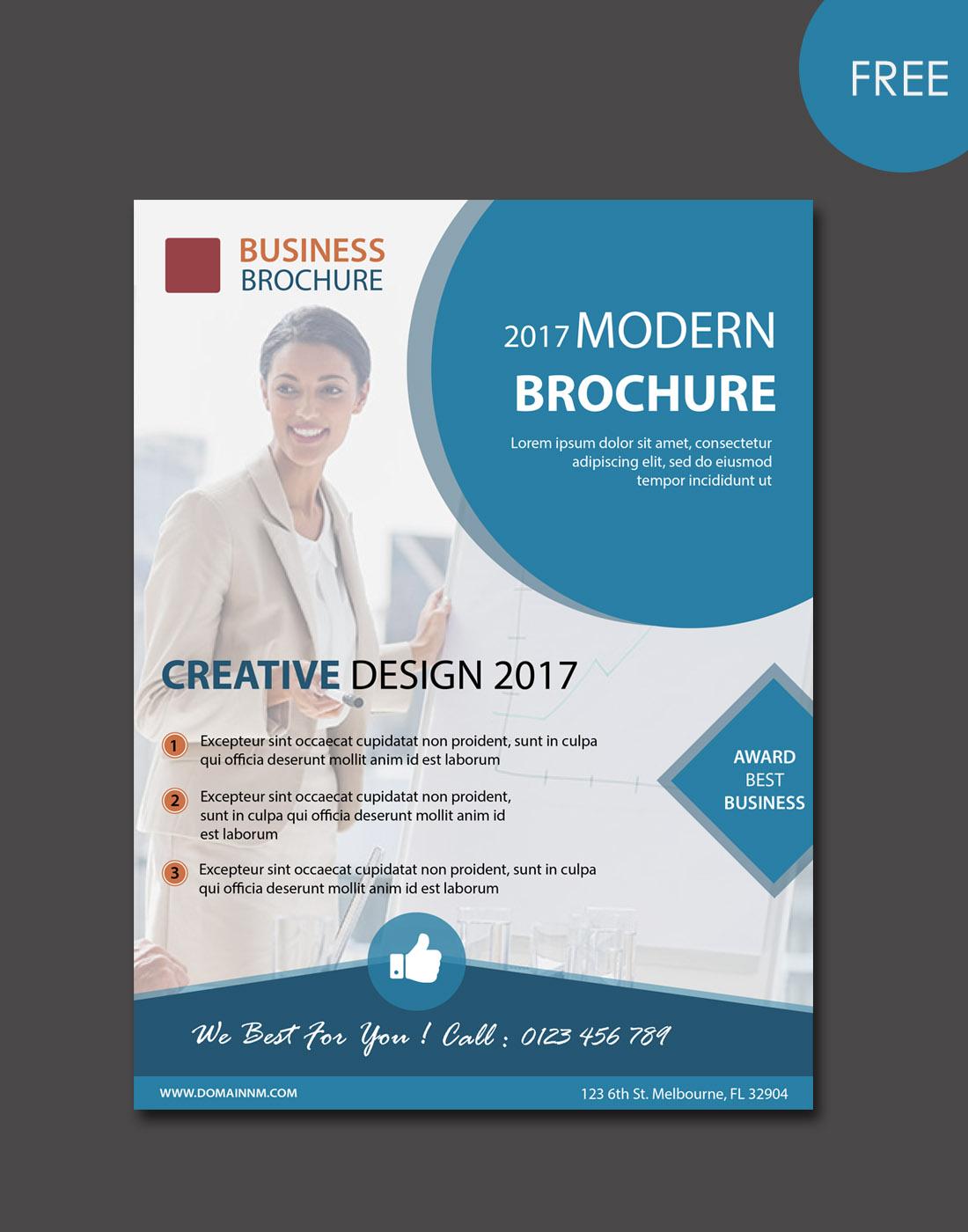 brochure-modern