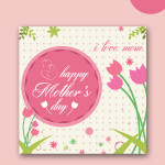 mothers day vector templates