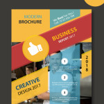 modern business flayer templates