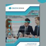 free business vector brochure