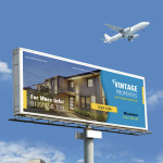 free property billboard template
