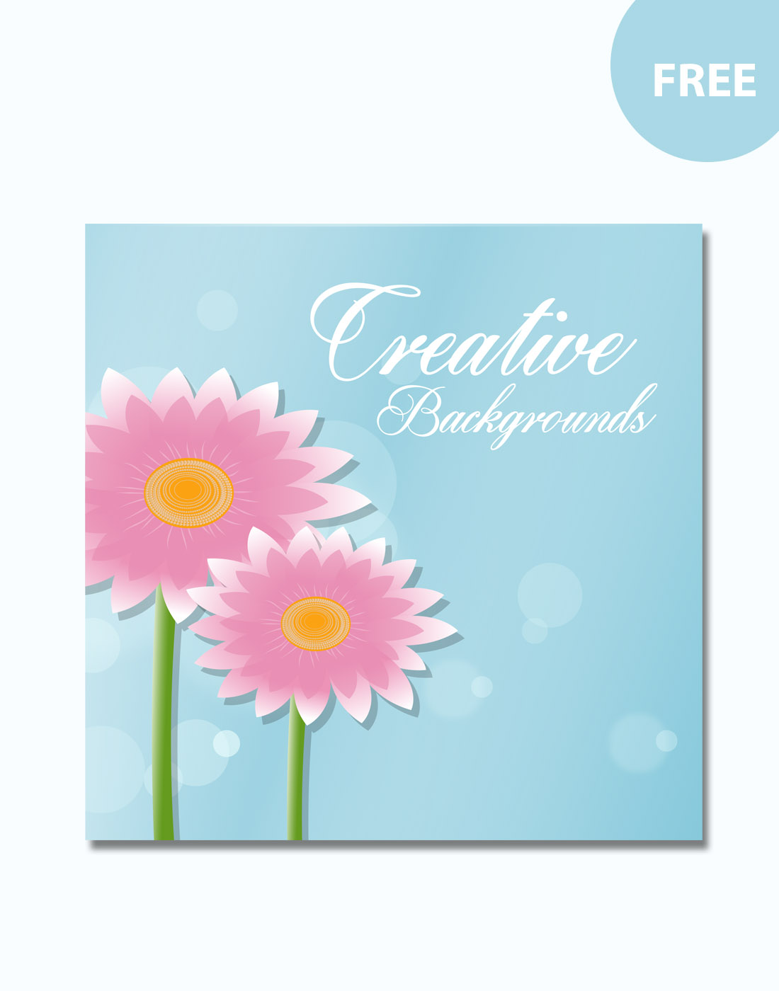 creative floral backgrounds