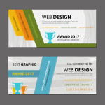 website banners layout