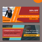web banners templates