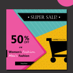 free sale vector banners