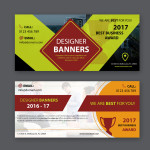 free vector banners download