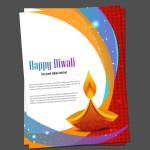 diwali card templates
