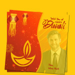 Diwali Photo Card Template