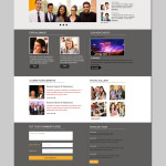 alumni website psd templates