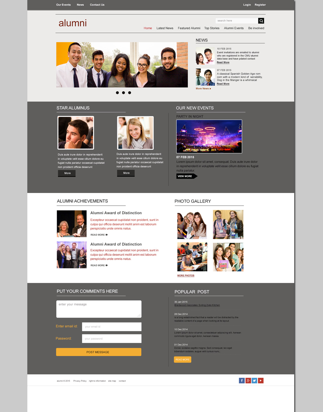 Website Layout Archives Free Website Templates Download