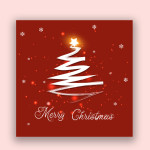 free modern christmas tree templates
