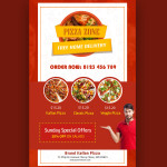 free pizza brochure templates