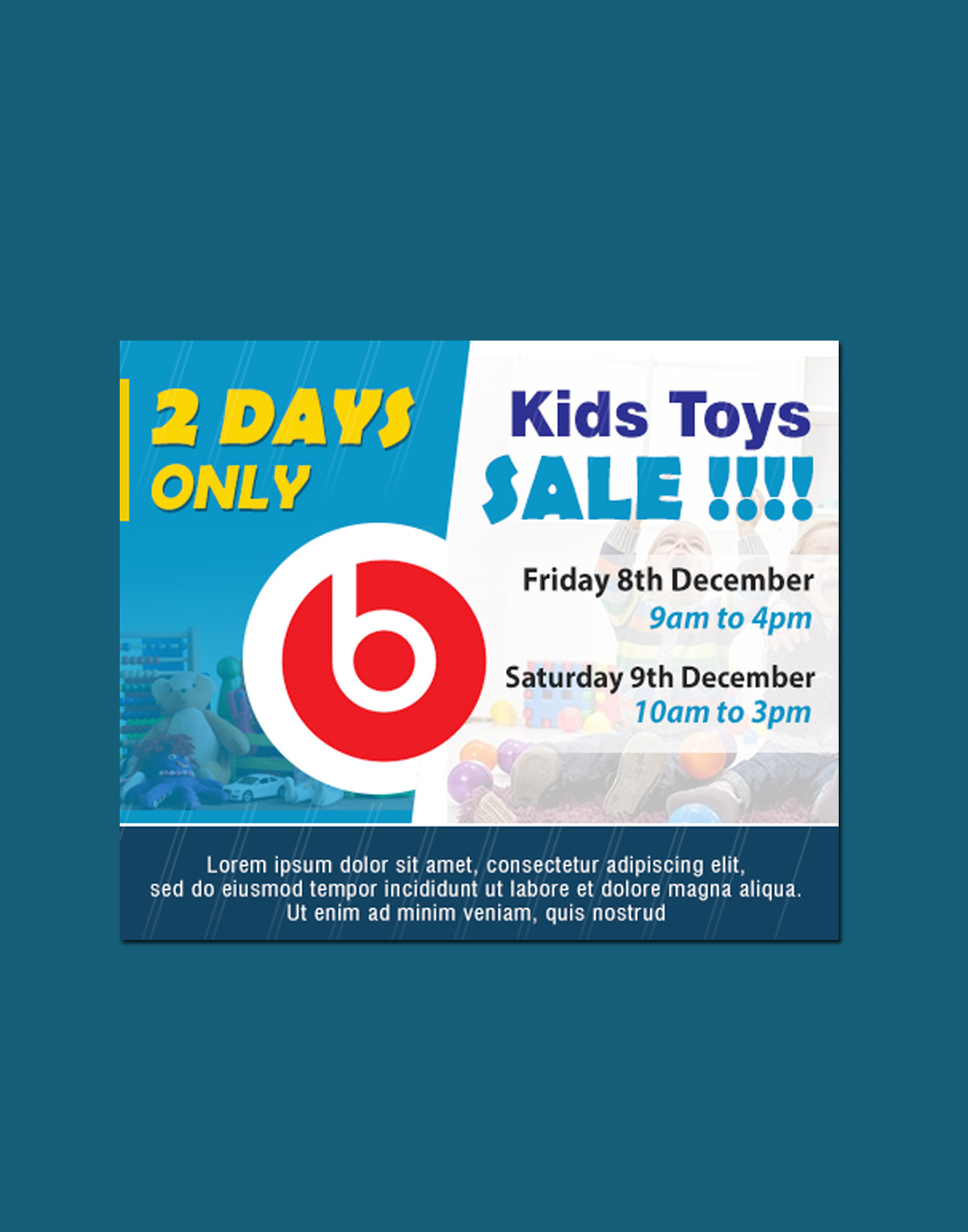 kids sale banners