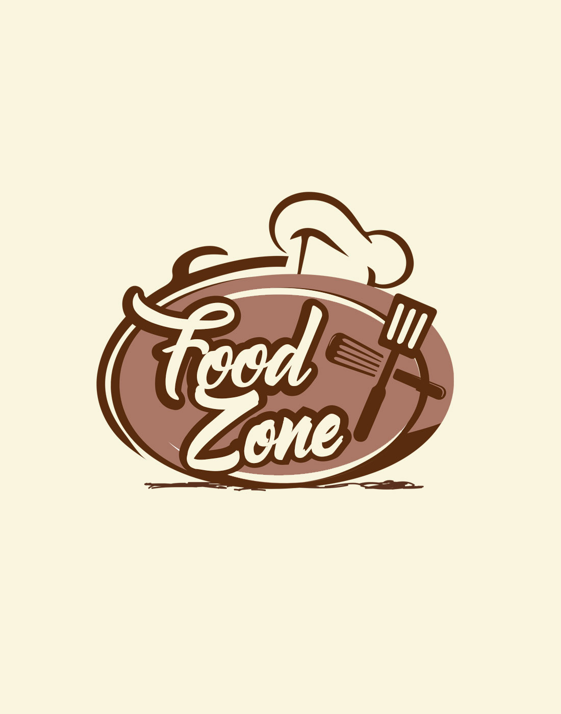 Home Design Layout Templates Food Logo Vector Templates