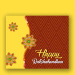 Rakhi vector template