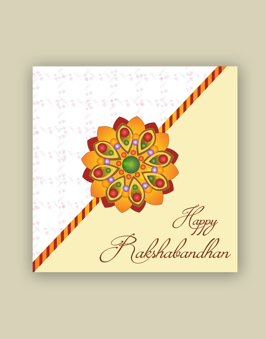 photograph about Rakhi Cards Printable named no cost rakhi structure obtain