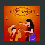 free navratri template