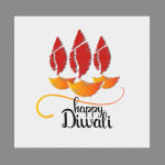 diwali vector graphic free