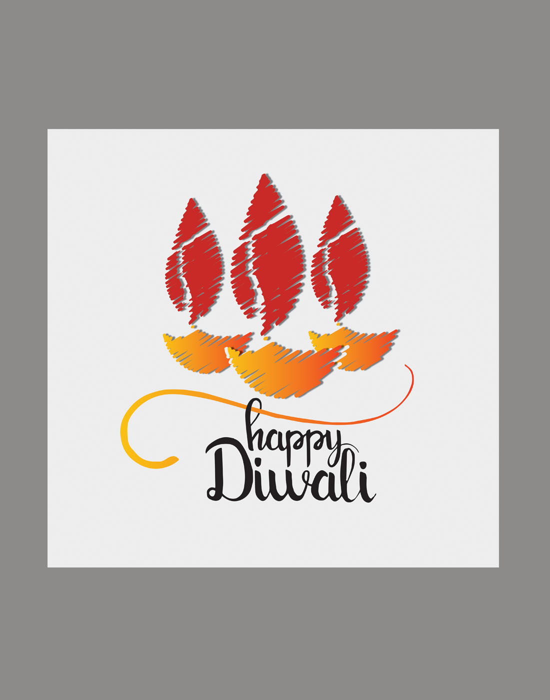 diwali vector graphics
