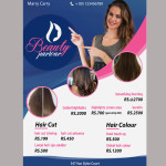 Beauty parlour psd