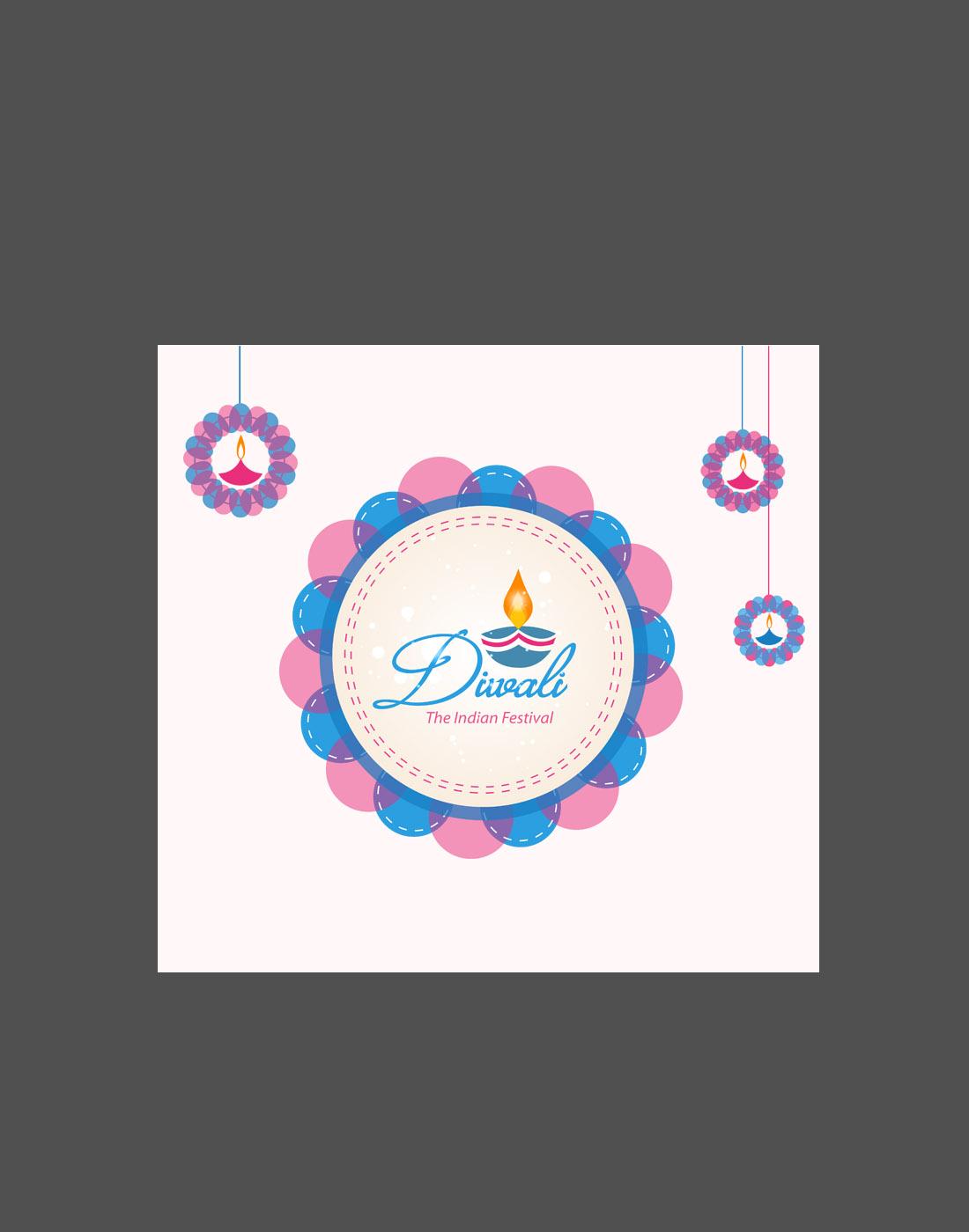 free diwali_vector